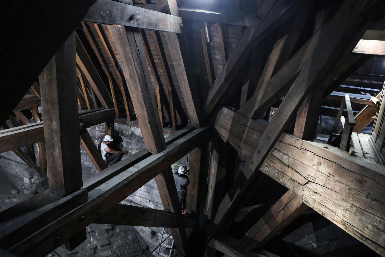 Notre Dame De Paris Cross Section By Stephen Biesty A