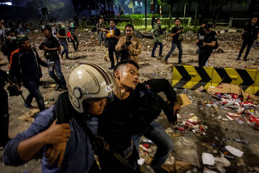 Indonesia Election Riots in Photos - The Atlantic
