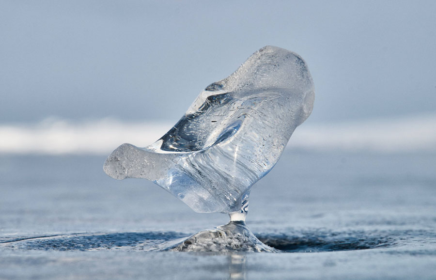 Lake Baikal Ice Formations in Photos - The Atlantic