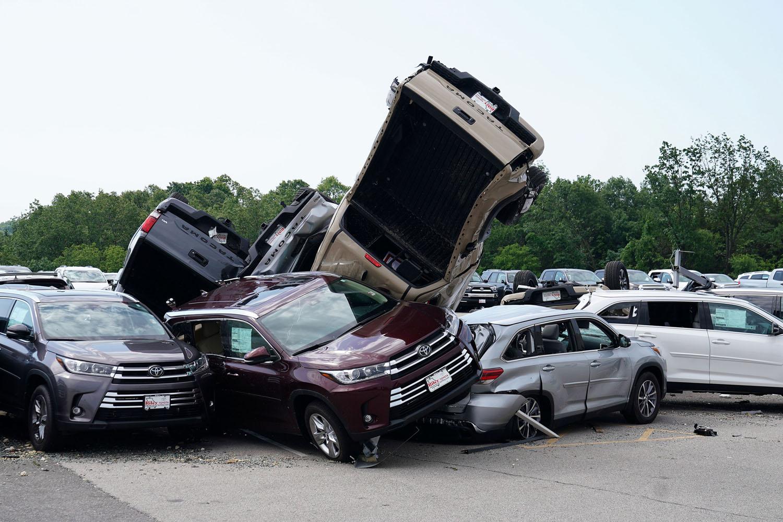 Toyota Dealership Dayton Ohio >> Tornado Damage 13 Days Of Devastation In Photos The Atlantic