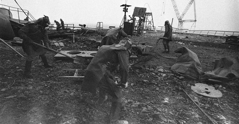 Photos From the 1986 Chernobyl Disaster
