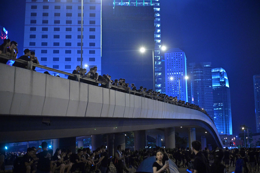 Hong Kong Protesters Return to the Streets: Photos - The