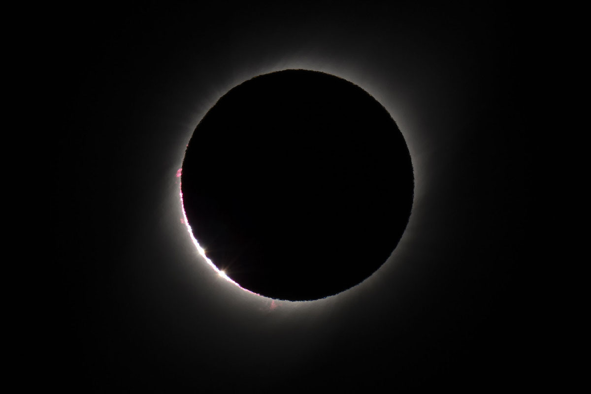 Photos of the 2019 Total Solar Eclipse (15 photos)
