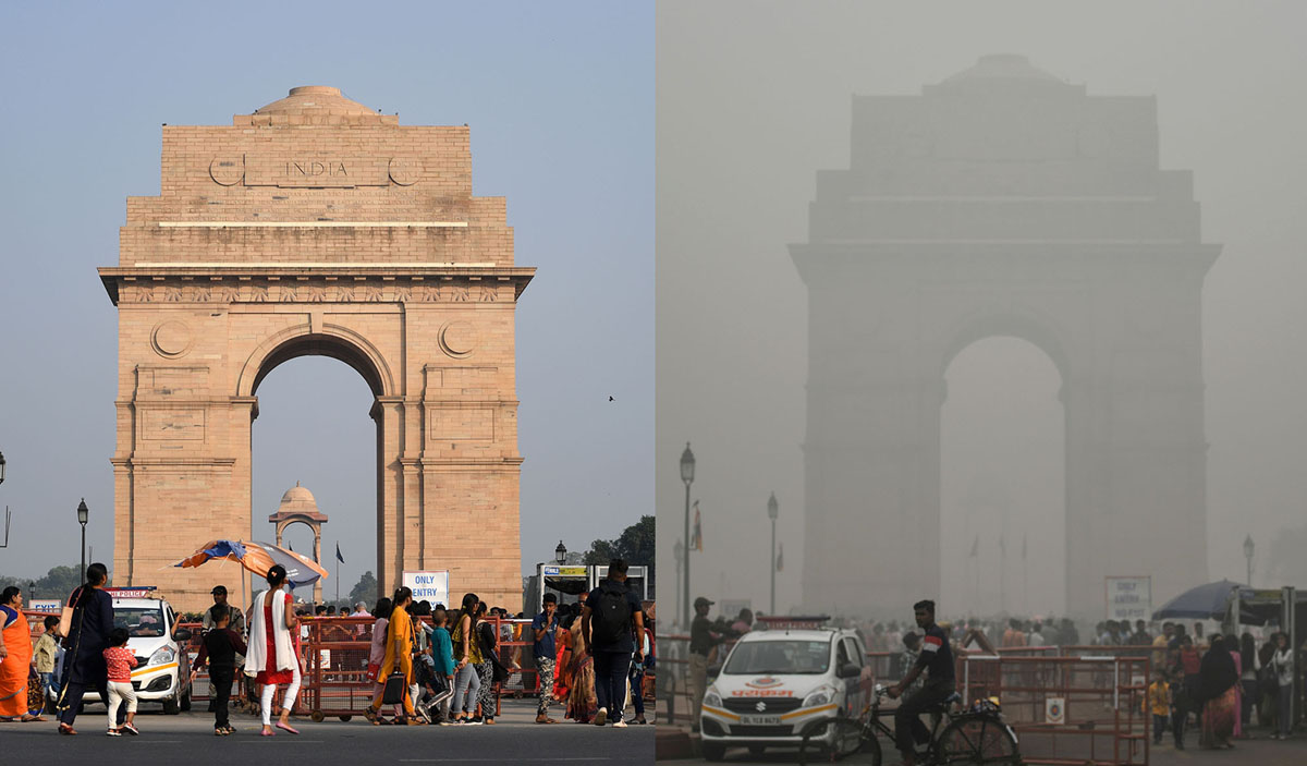Photos: Delhi's Toxic Sky (20 photos)