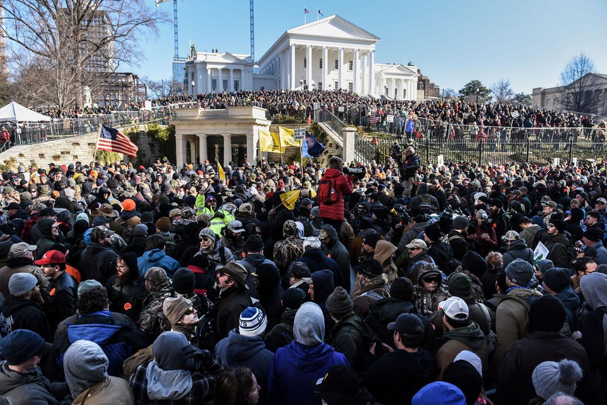 Photos From the Pro-Gun Rally in Virginia (20 photos)