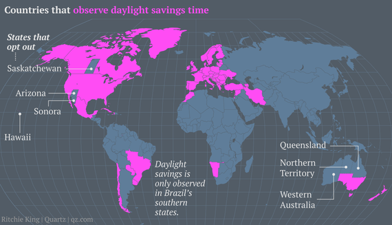 China only has one time zoneand thats a problem the atlantic daylight savings time is terrible heres a simple plan to fix it gumiabroncs Choice Image