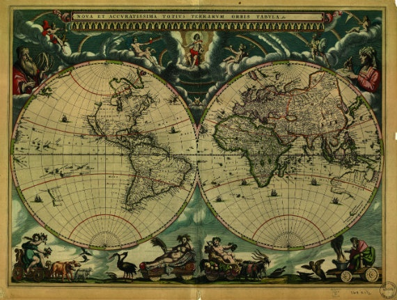 First Accurate Map Of The World.12 Maps That Changed The World The Atlantic