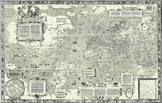 Oldest Map Of America.12 Maps That Changed The World The Atlantic