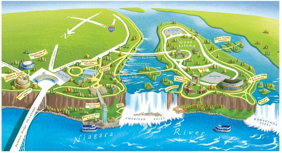What Niagara Falls Looks Like Without Water The Atlantic