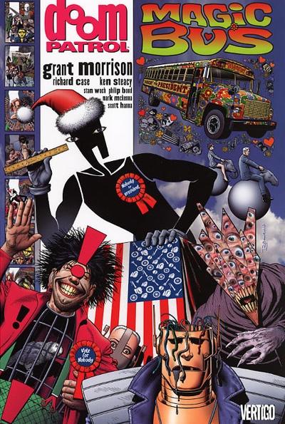 Grant Morrison S Doom Patrol The Craziest Superhero Story Ever