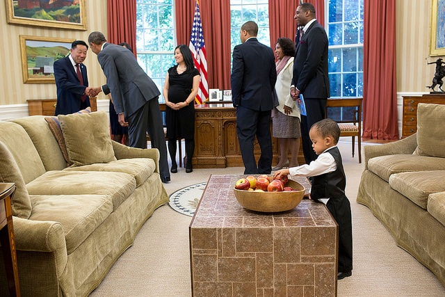 A Visual History Of Kids Being Unimpressed With President