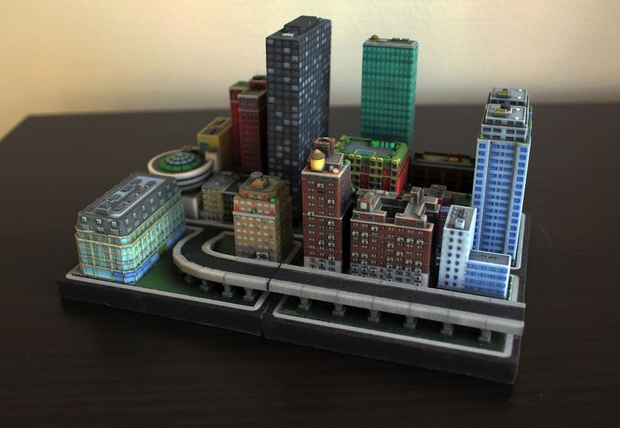 Make Your Own Diorama: Play God With This Customizable Miniature City