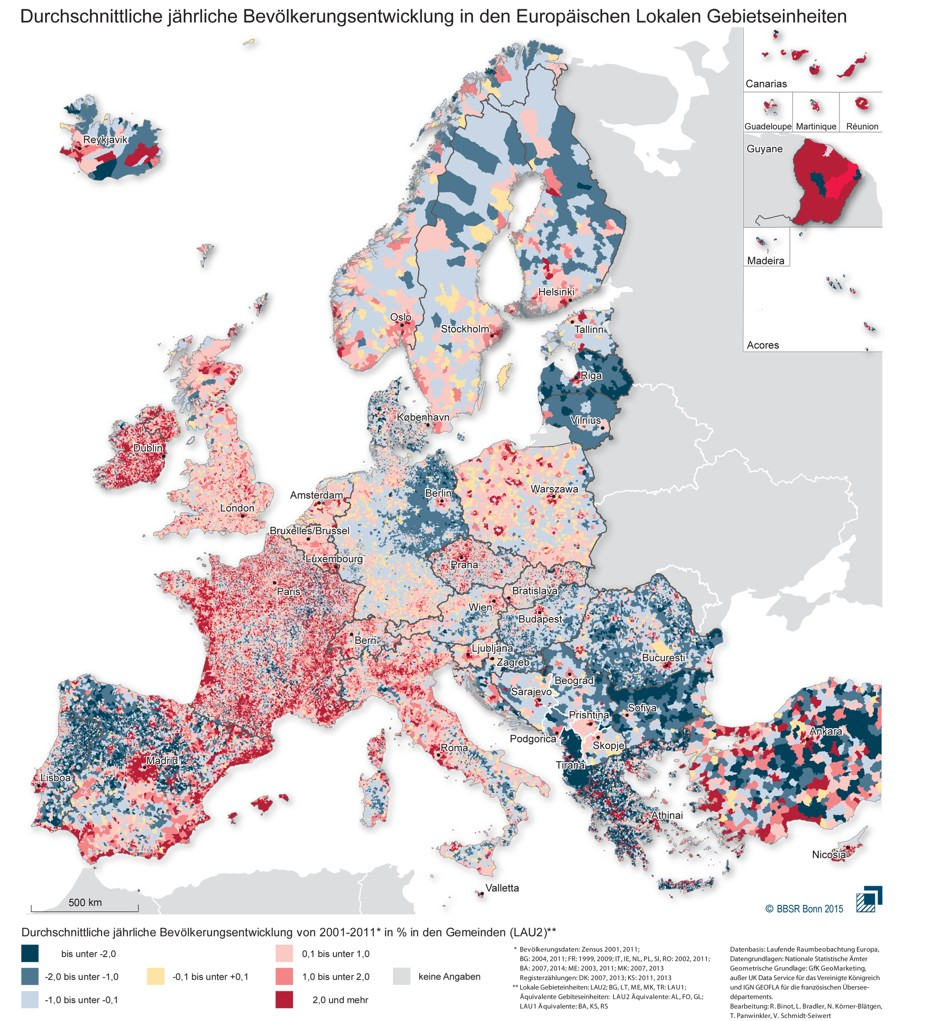 http://www.citylab.com/politics/2015/06/incredibly-detailed-map-europes-population-shifts/396497/?utm_source=SFTwitter