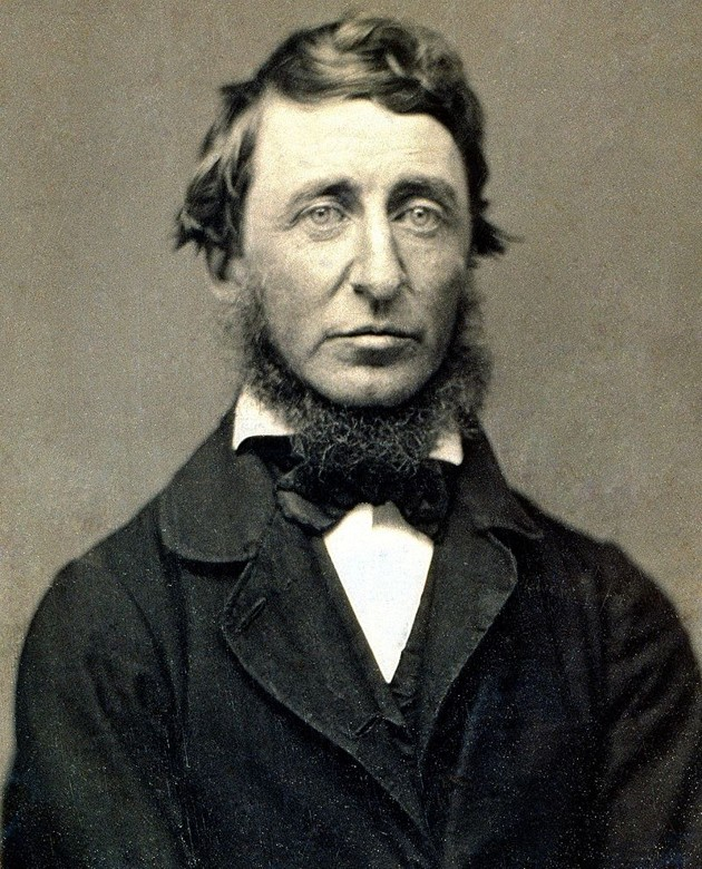 What makes Henry David Thoreau still famous today?