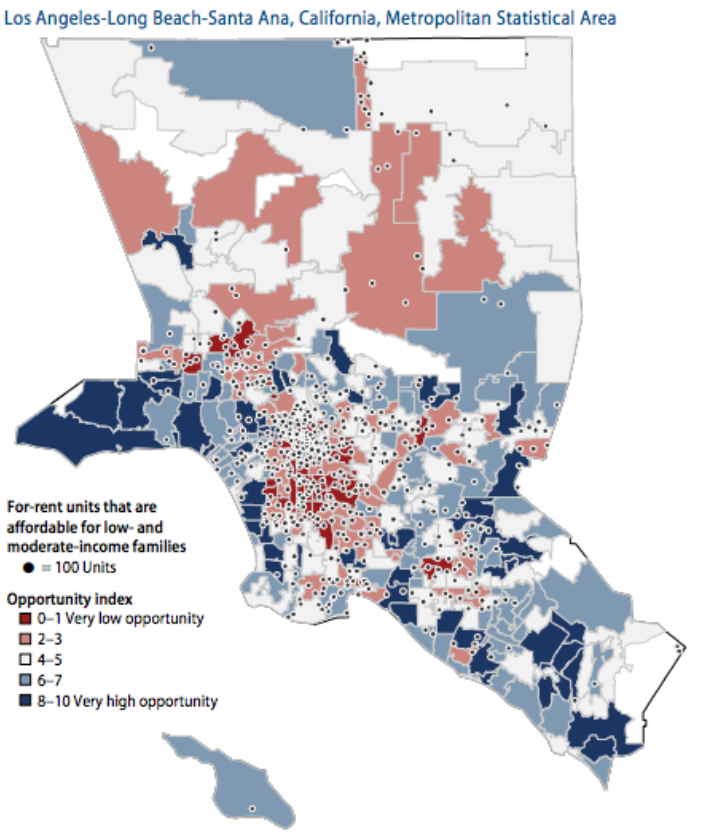 High Crime Areas Los Angeles Map