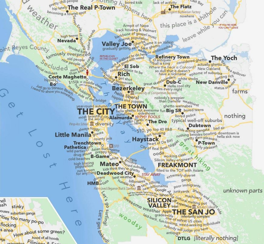 Detailed Judgemental Map of the Bay Area (San Francisco ... on alameda county, san francisco bay, marin county, pittsburg california map, oakland california map, santa rosa, san jose, northern california, mountain view california map, san diego earthquake fault zone map, fairfield california map, richmond california map, santa rosa mountain trail map, southern california, southern california map, santa cruz california map, orange county, san francisco, east bay, fresno california map, santa clara, east bay california map, central coast california map, santa rosa california map, peninsula california map, california california map, san jose california map, northern california map, silicon valley, santa clara county, palo alto, golden gate bridge, south bay california map, san mateo county, sonoma county, los angeles california map, santa clara california map,