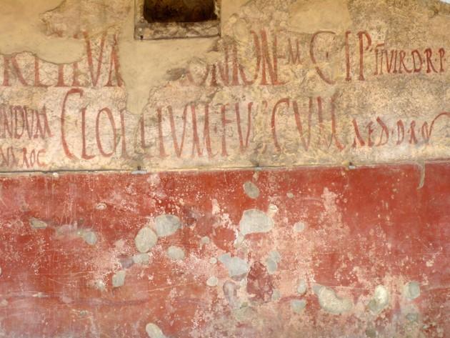 The Graffiti At Pompeii The Atlantic