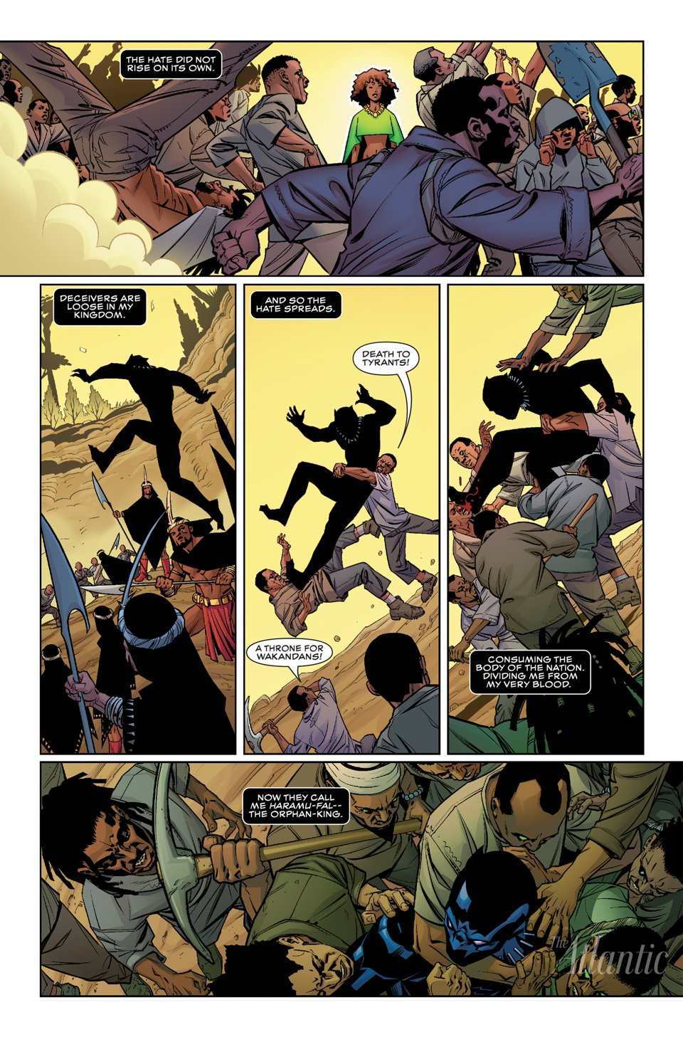 Time For A New Black Panther Ongoing From Marvel Page 2