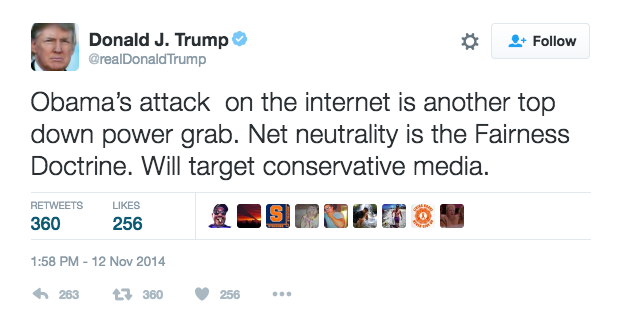 Will Donald Trump Dismantle the Internet as We Know It?