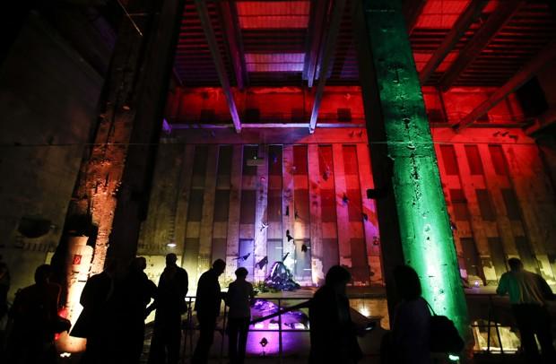 Berlin's Berghain nightclub is pictured.