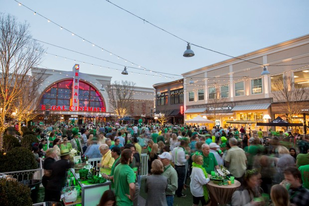 A St. Patrick's Day party at Avalon is pictured.