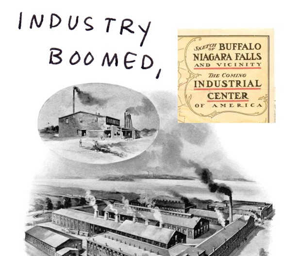 Industry boomed,
