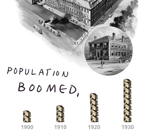 population boomed,