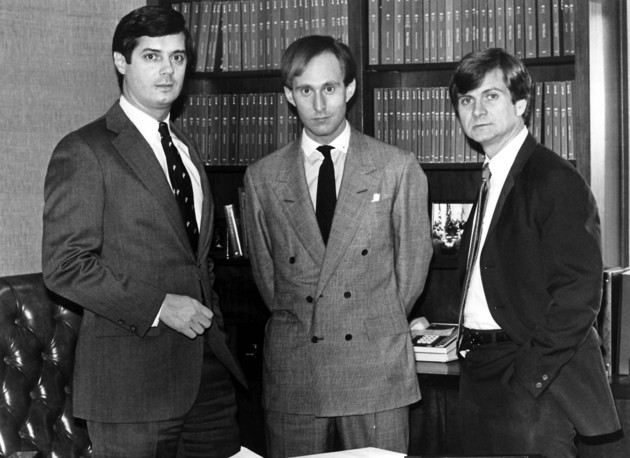 Manafort, Stone, and Atwater in 1985