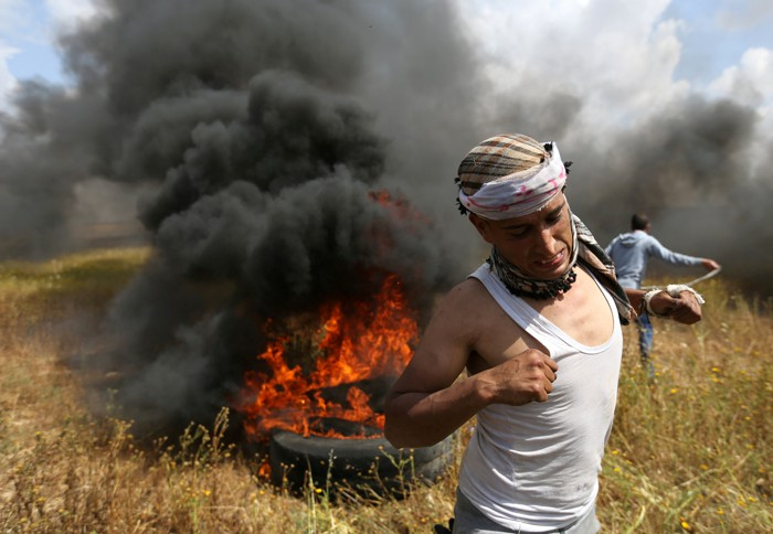 A Palestinian March Along Israel's Border Turns Fatal on Day One