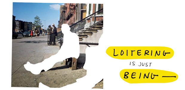 """Illustration from """"What Is Loitering, Really?"""""""