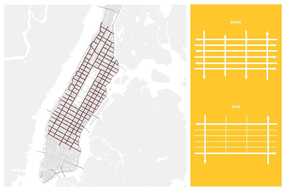 Rethinking Manhattan's Grid