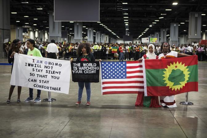 Abiy Ahmed's U S  Visit: Meeting the Ethiopian Diaspora