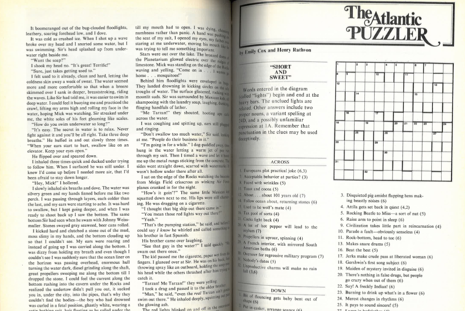 The Atlantic Crossword: A New Daily Puzzle - The Atlantic