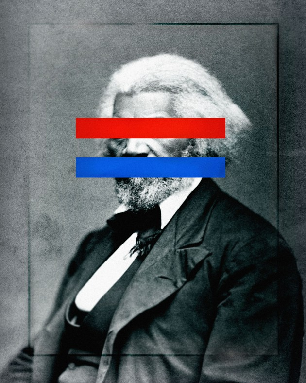 Illustration: Frederick Douglass