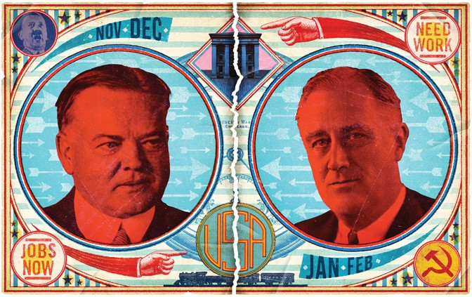 FDR And Herbert Hoover S Fight Over The New Deal The Atlantic