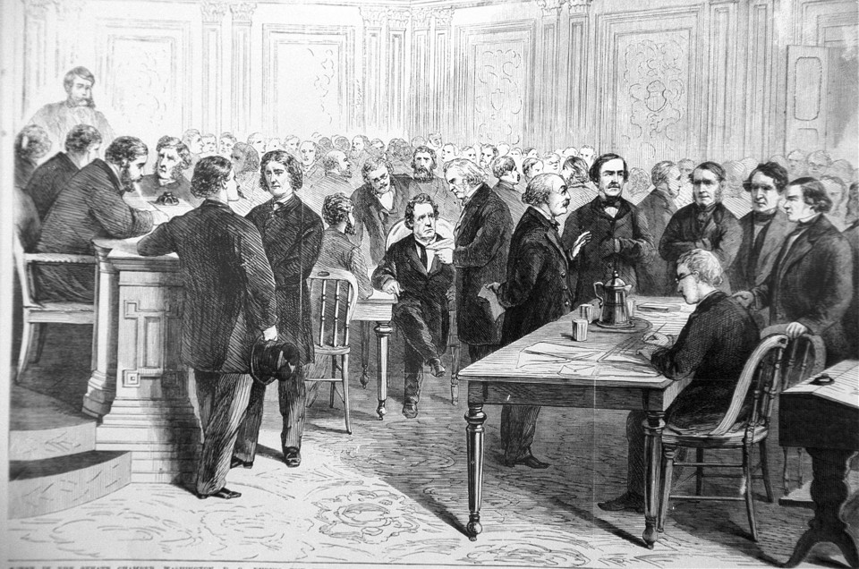 The Senate trial of Andrew Johnson