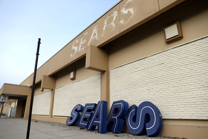 Sears out of business