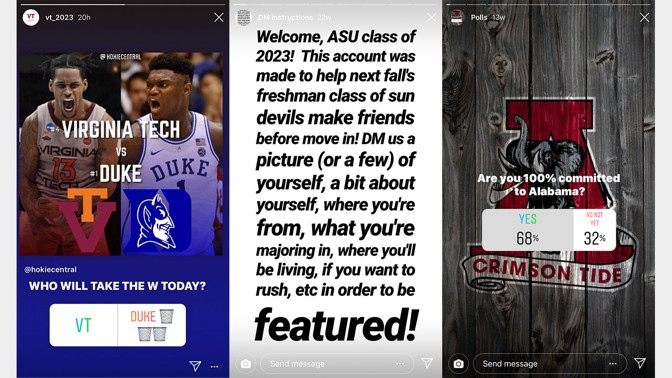 quality design 5da35 3222a Because class pages are built for meeting people, students who are featured  usually get a rush of Instagram followers afterward—and some, of course, ...