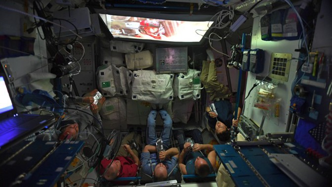 Even Astronauts Binge-Watch TV While in Space