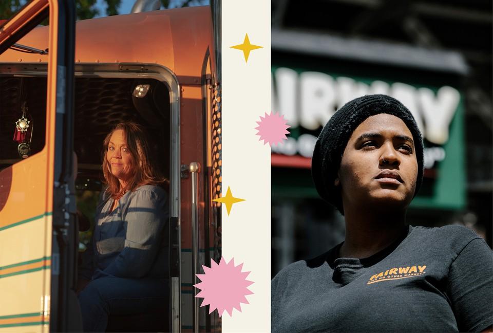 Left: Ingrid Brown; right: Elizabeth Miller