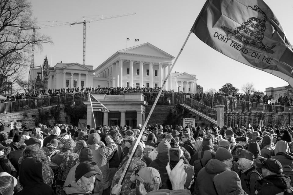 January 2020 gun-rights rally in Richmond, VA