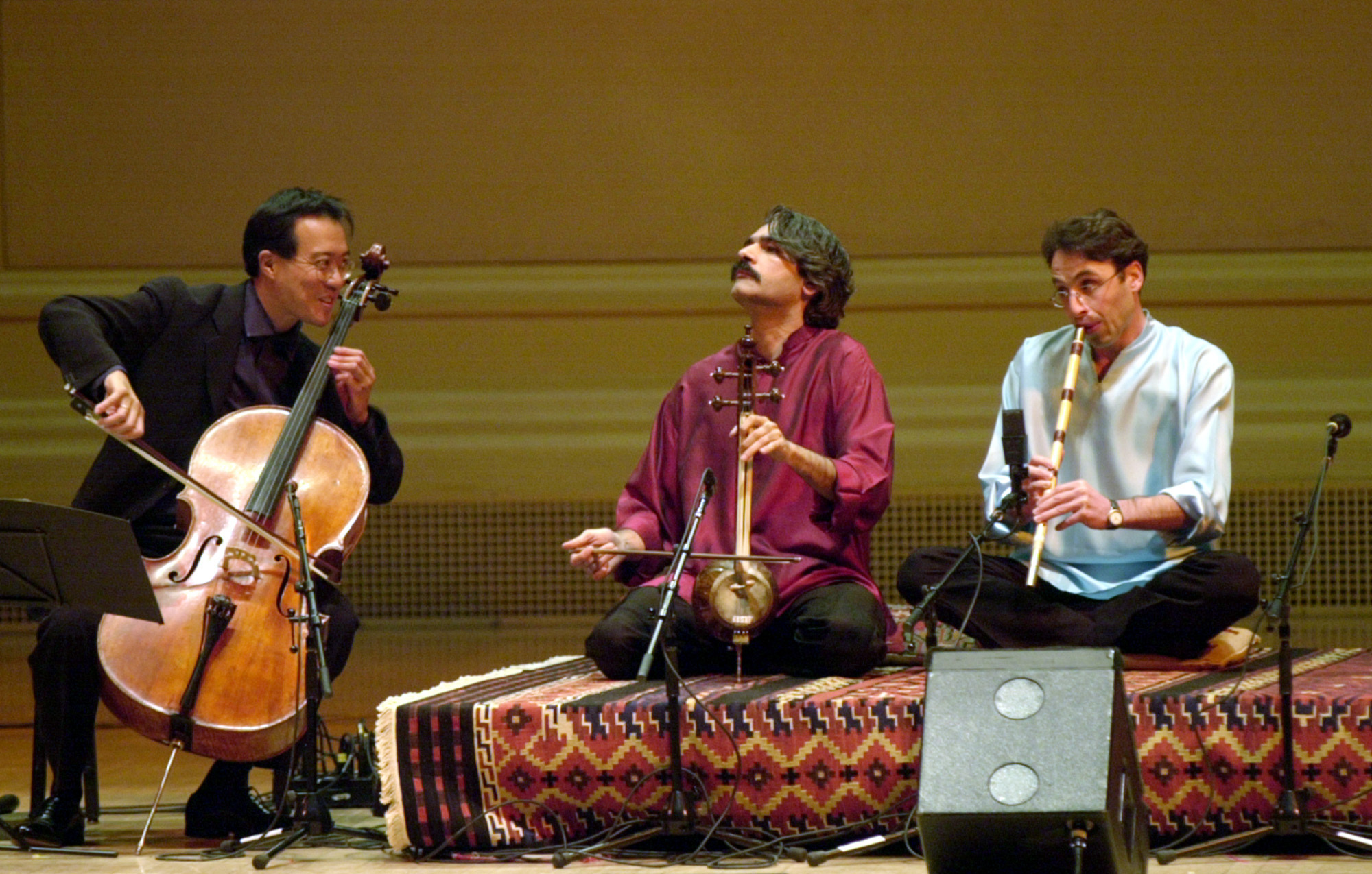 A Yo-Yo Ma Project Brings Together Musicians From Warring Nations