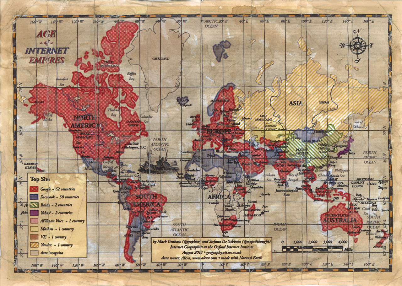 the worlds most popular websites old timey map style graham and de stabbata