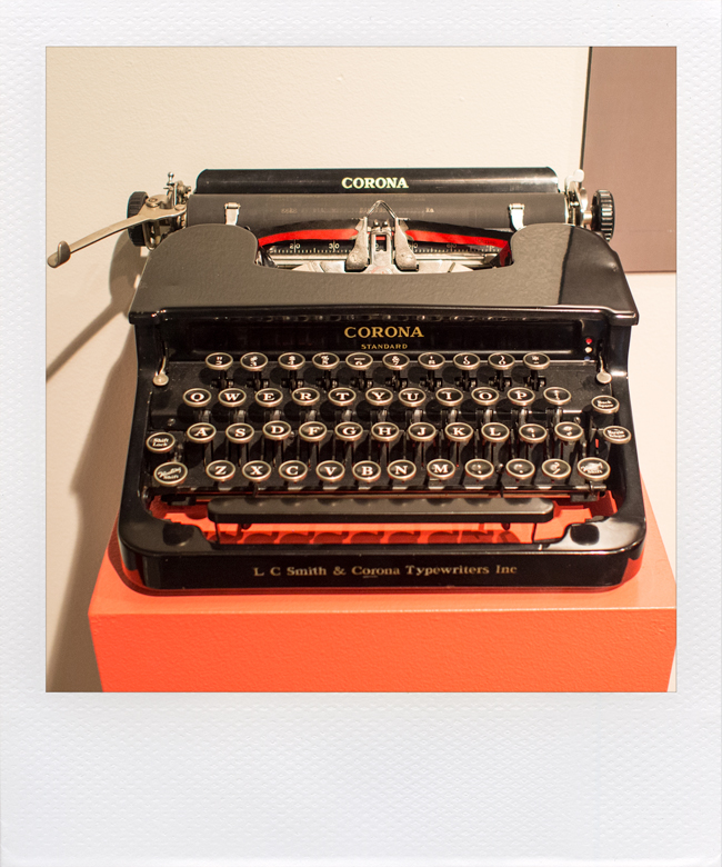 Prop From The Way We Were, 1939 Corona Standard: This 1939 Corona Standard  Is A Prop From The 1973 Academy Award Winning Movie The Way We Were, ...
