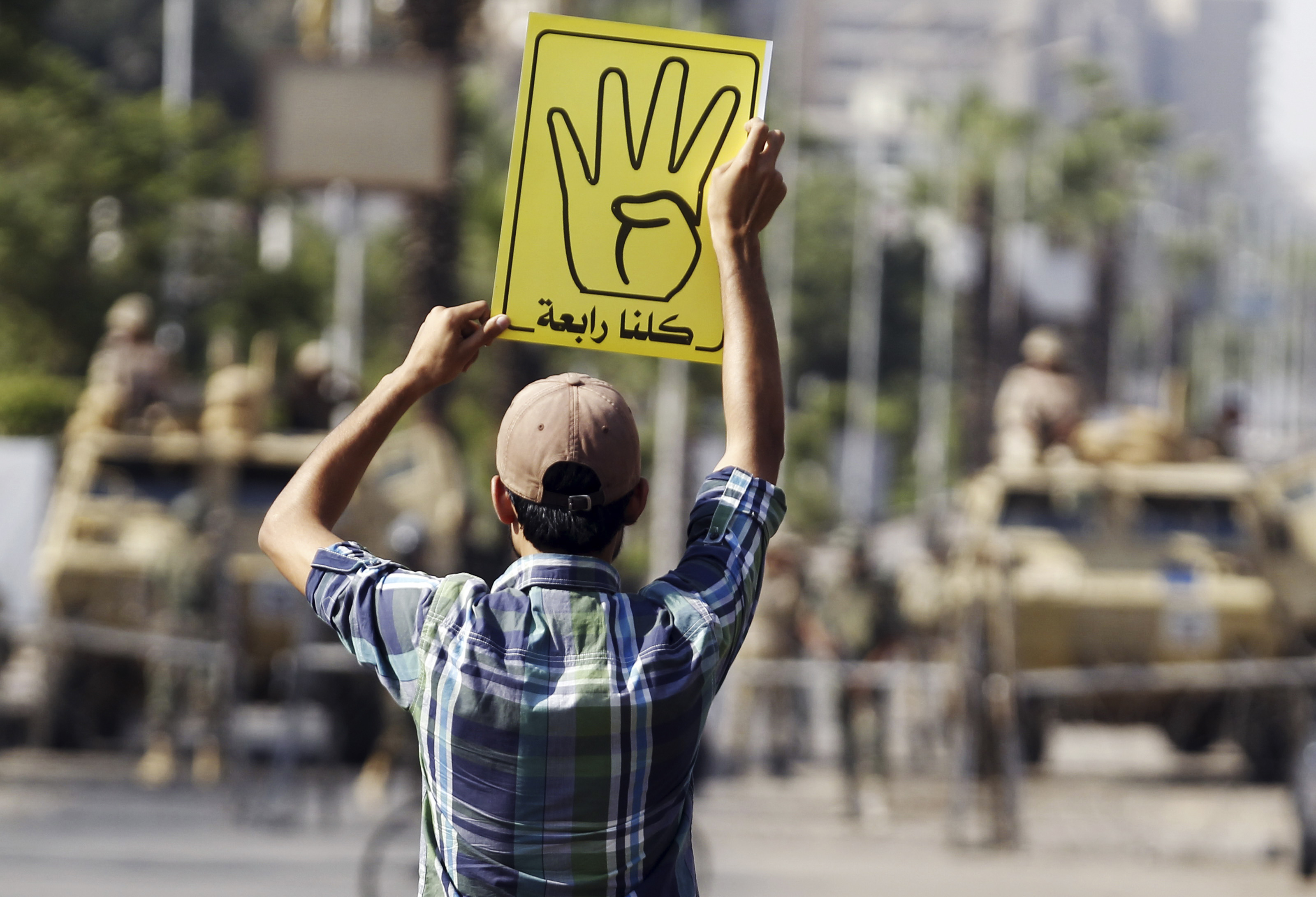 What This Hand Gesture Means For Egypts Future The Atlantic