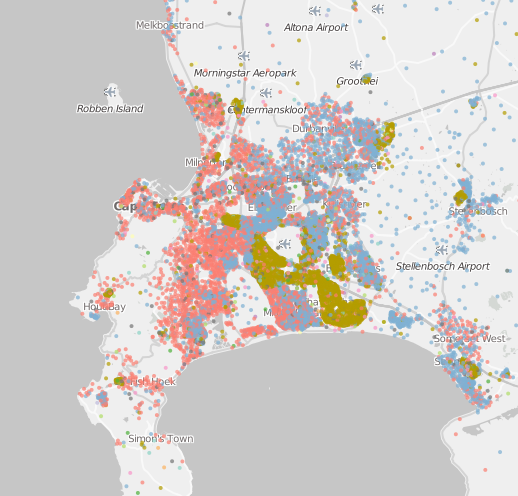 An Amazing Dizzying Map of All the Languages and Races in South