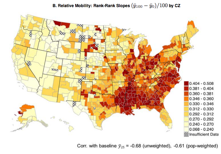 Economists Your Parents Are More Important Than Ever The Atlantic - Heat map of us wealth