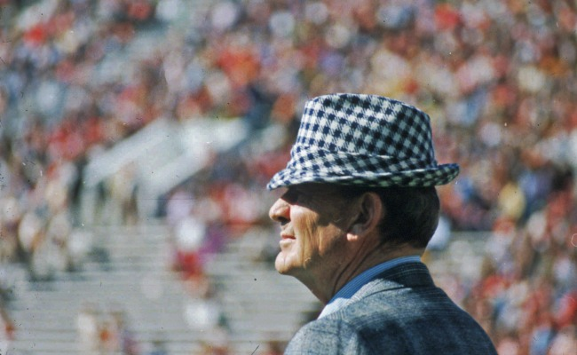 Bear Bryant: The Vince Lombardi Of College Football, And