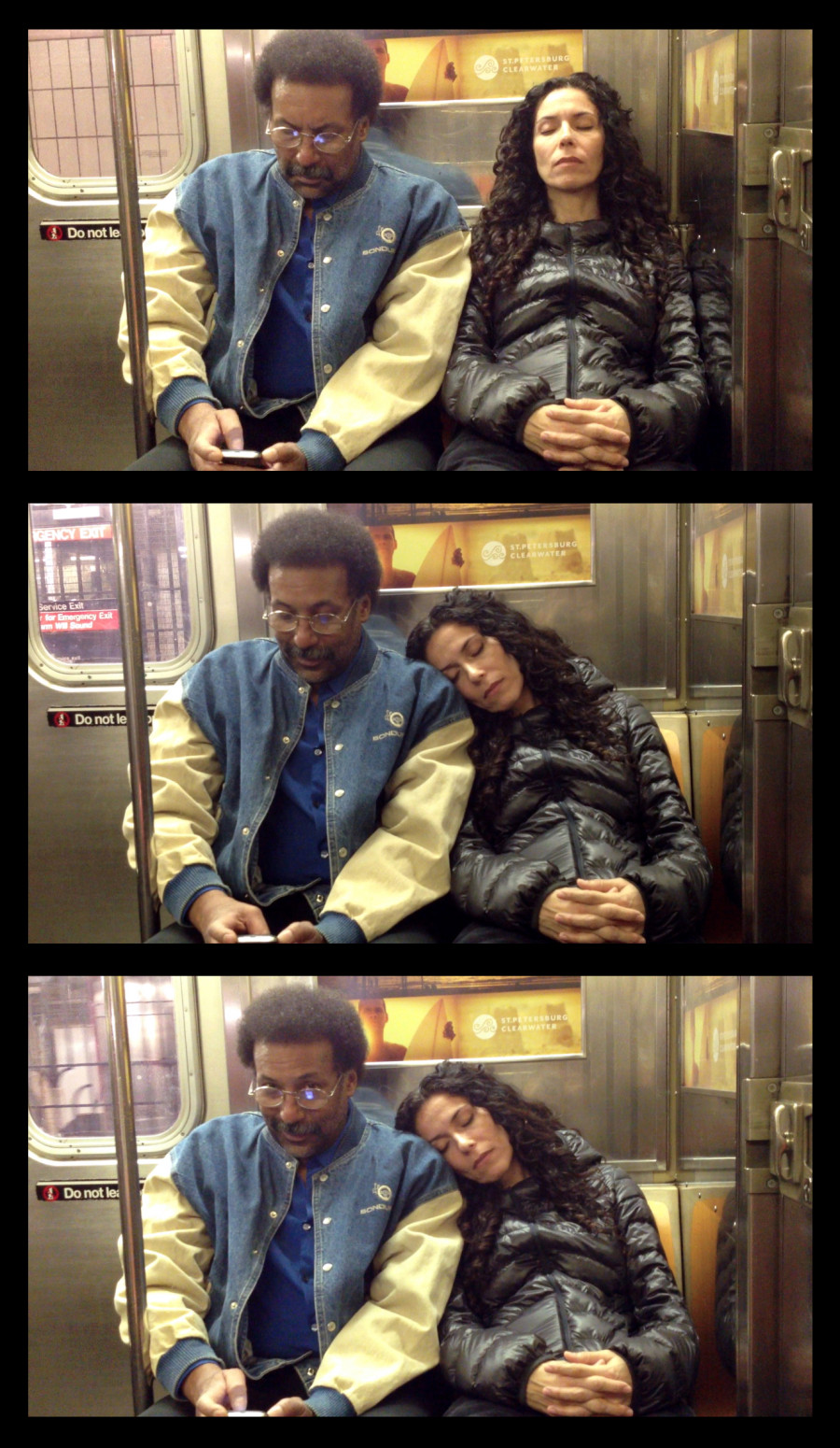 How New Yorkers Reacted When a Stranger Slept on Them in the