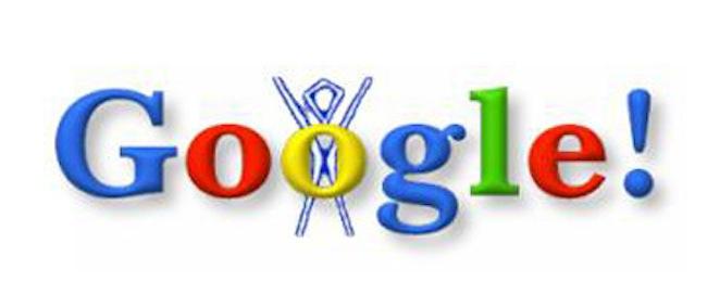 Primeiro doodle do Google